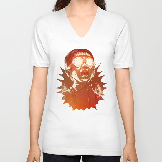FIREEE! V-neck T-shirt
