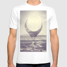 Beholder Mens Fitted Tee White SMALL