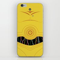 C3P0 iPhone Case iPhone & iPod Skin