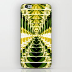 Abstract.Green,Yellow,Black,White,Lime. iPhone & iPod Skin