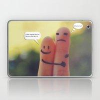 Friends/Enemies. Laptop & iPad Skin
