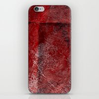 red watercolor iPhone & iPod Skin