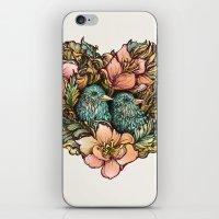 Bluebird Valentine iPhone & iPod Skin