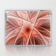 Flower Decoration Laptop & iPad Skin