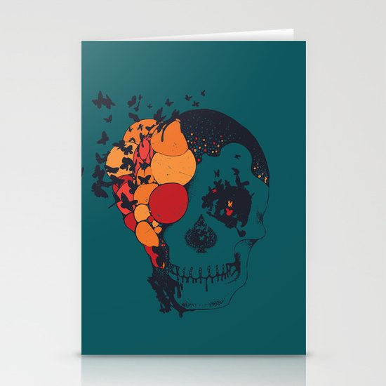 Beautiful Decay Stationery Card