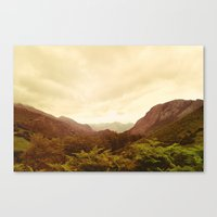mountains (02) Canvas Print