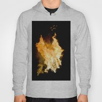 Face In The Flames Hoody