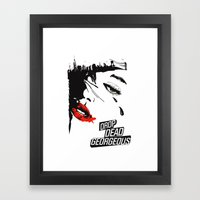 drop dead gorgeous - femme fatale Framed Art Print