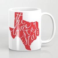 The Lone Star State - Texas Mug