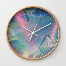 Refraction I Wall Clock