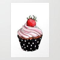 Cupcake 03 Art Print