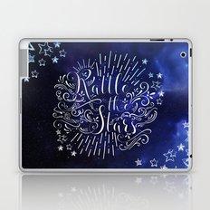 Rattle The Stars - Blue Laptop & iPad Skin
