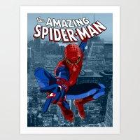 Amazing Spider-Man (Comi… Art Print