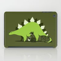 Crude Oil Comes From Din… iPad Case