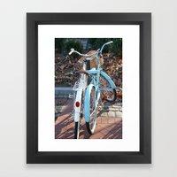 Head over Wheels Framed Art Print