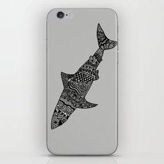 Doodle Shark iPhone & iPod Skin