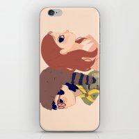 Sam And Suzy iPhone & iPod Skin