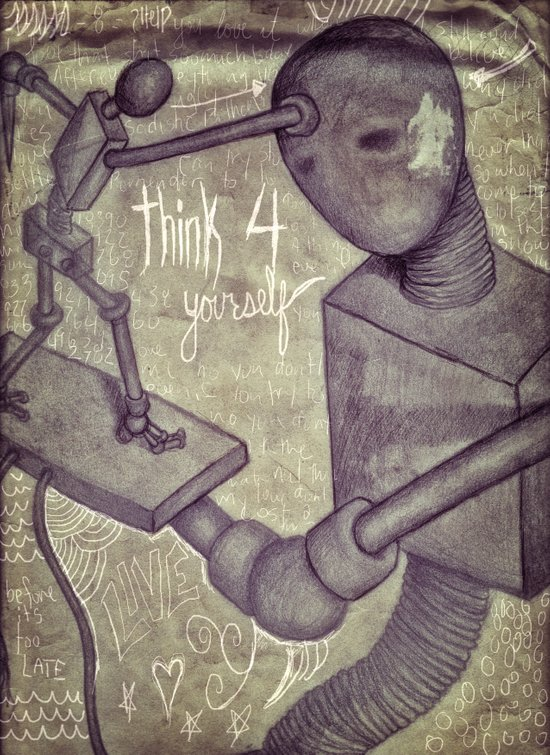 think4yourself Art Print