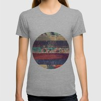 DESCONCIERTO Womens Fitted Tee Athletic Grey SMALL
