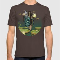 T-shirt featuring GUARDIAN AND HERON by ANVIK