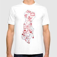 Equality  Mens Fitted Tee White SMALL