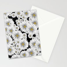 Retro Daisies  Stationery Cards