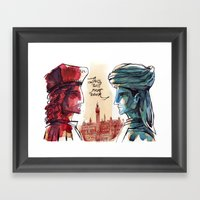 Us And Them - Renaissanc… Framed Art Print