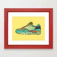 Nike 001 Framed Art Print