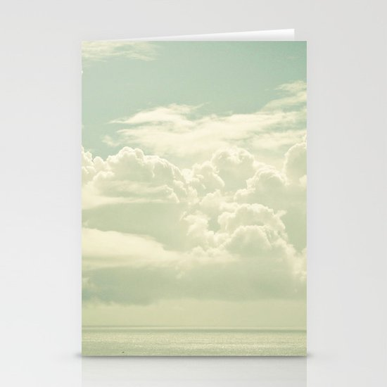 As the Clouds Gathered Stationery Card