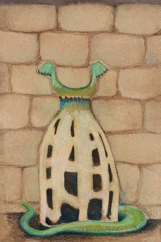 Castle Dress Art Print