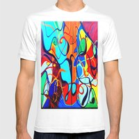 Confrontation II Mens Fitted Tee White SMALL