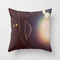 a little flare Throw Pillow