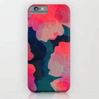 iPhone & iPod Case featuring Blushing Flowers- Purple by Rebecca Allen