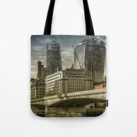 London North Bank Tote Bag