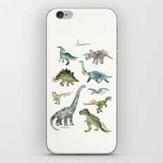 Dinosaurs iPhone & iPod Skin