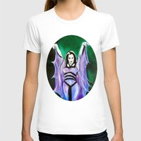 The Munsters Lily Munste… Womens Fitted Tee White SMALL