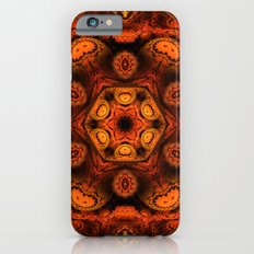 Burning jellyfish kaleidoscope iPhone 6s Slim Case