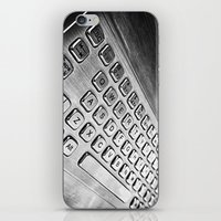 Keyboard iPhone & iPod Skin