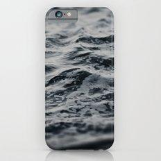 Ocean Magic Black and White Waves iPhone 6s Slim Case