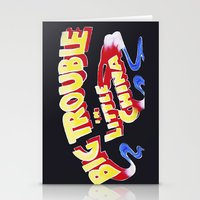 Big Trouble In Little Ch… Stationery Cards