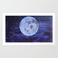 I See The Moon (And The Moon Sees Me) Art Print