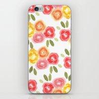 Vintage Florals iPhone & iPod Skin