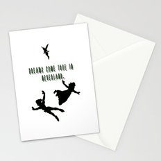 Dreams Come True In Neverland. Stationery Cards