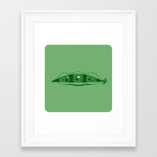 Zompea! Framed Art Print
