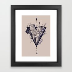 Untamed Framed Art Print