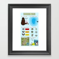 Dogs 101 Framed Art Print
