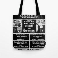 #11-B Memphis Wrestling … Tote Bag
