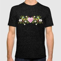 Feel my Nature Mens Fitted Tee Tri-Black SMALL