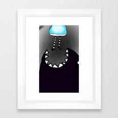 Monster. Framed Art Print
