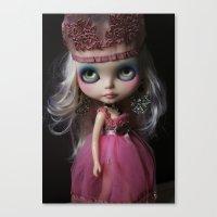 Pink Custom Blythe Darli… Canvas Print